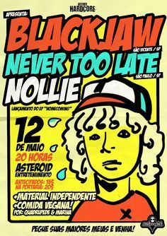 Blackjaw, Never Too Late e Nollie | This is Hardcore Sorocaba